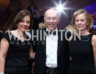 Leslie Kiernan, Kurt and Alison Newman. Photo by Tony Powell. 2017 Heroes Curing Childhood Cancer Gala. Ritz Carlton. February 25, 2017