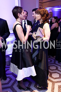 Dr. Anne Angiolillo, Erin Egan. Photo by Tony Powell. 2017 Heroes Curing Childhood Cancer Gala. Ritz Carlton. February 25, 2017