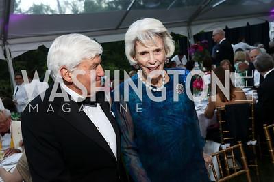 Nancy Pyne. Photo by Tony Powell. 2017 Hillwood Gala. June 6, 2017