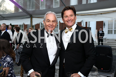 Richard May, Joe Ruzzo. Photo by Tony Powell. 2017 Hillwood Gala. June 6, 2017