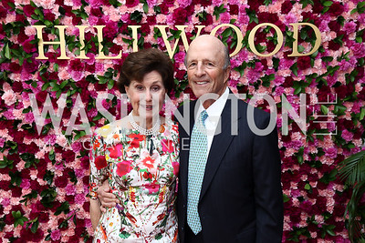 Sally and Buck Chapoton. Photo by Tony Powell. 2017 Hillwood Gala. June 6, 2017
