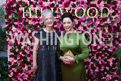 Kate Markert, Nina Rumbough. Photo by Tony Powell. 2017 Hillwood Gala. June 6, 2017