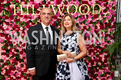 Reza and Fariba Jahanbani. Photo by Tony Powell. 2017 Hillwood Gala. June 6, 2017