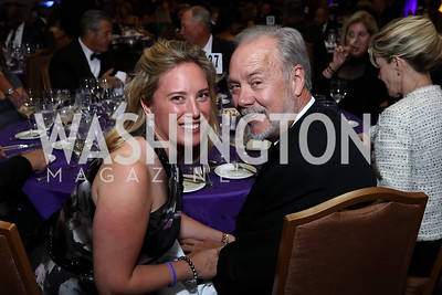 "Erin Kilday, Tom Liljenquist. Photo by Tony Powell. 2017 Joan Hisaoka ""Make a Difference"" Gala. Omni Shoreham. September 16, 2017"