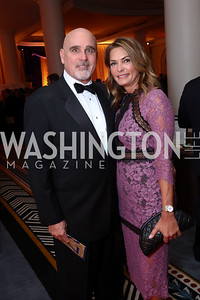 "Michael Murphy, Erika Schiller. Photo by Tony Powell. 2017 Joan Hisaoka ""Make a Difference"" Gala. Omni Shoreham. September 16, 2017"