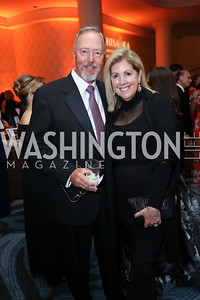 "Sid and Sherrie Beckstead. Photo by Tony Powell. 2017 Joan Hisaoka ""Make a Difference"" Gala. Omni Shoreham. September 16, 2017"