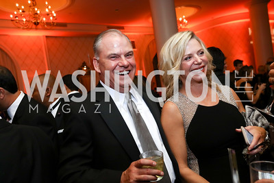 "Jeff and Nancy Seitz. Photo by Tony Powell. 2017 Joan Hisaoka ""Make a Difference"" Gala. Omni Shoreham. September 16, 2017"