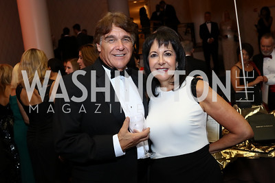 "Joey Miller, Liz Sara. Photo by Tony Powell. 2017 Joan Hisaoka ""Make a Difference"" Gala. Omni Shoreham. September 16, 2017"