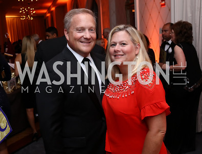 "Tony and Renee Burchard. Photo by Tony Powell. 2017 Joan Hisaoka ""Make a Difference"" Gala. Omni Shoreham. September 16, 2017"