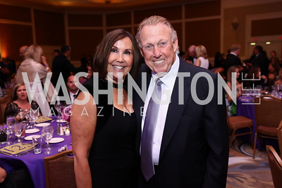 "Bonnie and Dick Patterson. Photo by Tony Powell. 2017 Joan Hisaoka ""Make a Difference"" Gala. Omni Shoreham. September 16, 2017"