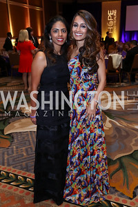 "Irfana Jetha Noorani, Sophia Lalani Hugh. Photo by Tony Powell. 2017 Joan Hisaoka ""Make a Difference"" Gala. Omni Shoreham. September 16, 2017"