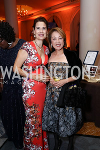 "Marianne Chaconas, Sachiko Kuno. Photo by Tony Powell. 2017 Joan Hisaoka ""Make a Difference"" Gala. Omni Shoreham. September 16, 2017"