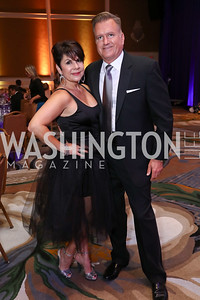"Ruth Hrubala, Jim Bell. Photo by Tony Powell. 2017 Joan Hisaoka ""Make a Difference"" Gala. Omni Shoreham. September 16, 2017"