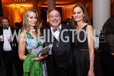 "Karina Mallona, Dean Morehouse, Debra Hartmann. Photo by Tony Powell. 2017 Joan Hisaoka ""Make a Difference"" Gala. Omni Shoreham. September 16, 2017"