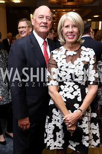 Hap and Winton Holladay. Photo by Tony Powell. 2017 Holocaust Museum National Tribute Dinner. Marriott Marquis. April 24, 2017