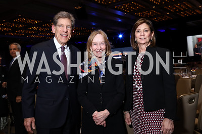 Allan Holt, Doris Kearns Goodwin, Shelley Holt. Photo by Tony Powell. 2017 Holocaust Museum National Tribute Dinner. Marriott Marquis. April 24, 2017