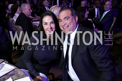 Shelly and Joe Galli. Photo by Tony Powell. 2017 Holocaust Museum National Tribute Dinner. Marriott Marquis. April 24, 2017