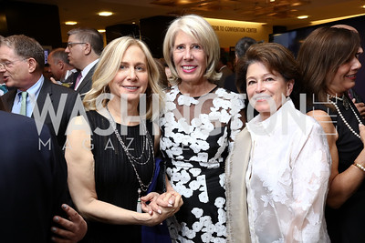 Andi Bernstein, Winton Holladay, Toni Verstandig. Photo by Tony Powell. 2017 Holocaust Museum National Tribute Dinner. Marriott Marquis. April 24, 2017