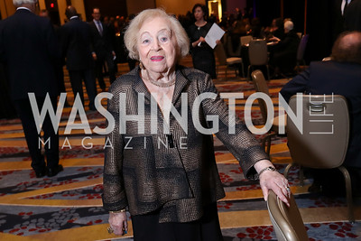 Blanche Porway. Photo by Tony Powell. 2017 Holocaust Museum National Tribute Dinner. Marriott Marquis. April 24, 2017