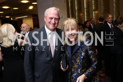 Alan Bubes and Nancy Taylor Bubes. Photo by Tony Powell. 2017 Holocaust Museum National Tribute Dinner. Marriott Marquis. April 24, 2017