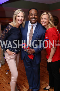 Laura Evans, Leon Harris, Pamela Brown. Photo by Tony Powell. 2017 Hope for Henry. Pinstripes. October 3, 2017