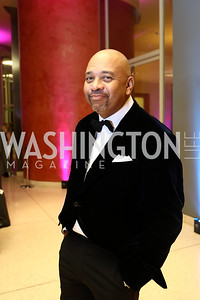 Michael Wilbon. Photo by Tony Powell. 2017 Imagination Stage Gala. Italian Embassy. December 8, 2017