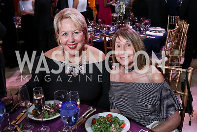 Marsha Muawwad, Betsy Grossman. Photo by Tony Powell. 2017 Imagination Stage Gala. Italian Embassy. December 8, 2017