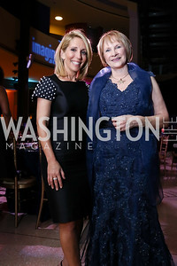 Dana Bash and Imagination Stage Founder & Executive Director Bonnie Fogel. Photo by Tony Powell. 2017 Imagination Stage Gala. Italian Embassy. December 8, 2017
