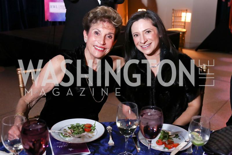 Dede Lang, Lauren Lang. Photo by Tony Powell. 2017 Imagination Stage Gala. Italian Embassy. December 8, 2017