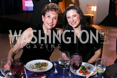 Dede Lang, Lauren Lang. Photo by Tony Powell. 2017 Imagination Stage Gala. Italian Embassy. December 8, 2017