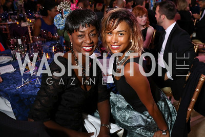 Rynthia and Katie Rost. Photo by Tony Powell. 2017 Imagination Stage Gala. Italian Embassy. December 8, 2017