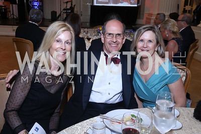 Eileen Shields West, Gordon Dale, Connie Carter. Photo by Tony Powell. 2017 Innocents at Risk Gala. OAS. April 26, 2017
