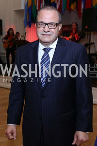 Dominican Republic Amb. Jose Tomas Perez. Photo by Tony Powell. 2017 Innocents at Risk Gala. OAS. April 26, 2017
