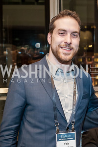 Yair Rosenberg. Photo by Tony Powell. 2017 J Street Gala. Convention Center. February 27, 2017