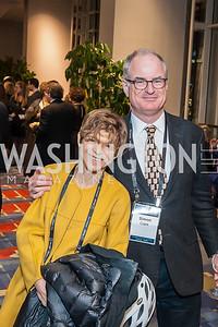 Diana Shaw and Simon Clark. Photo by Tony Powell. 2017 J Street Gala. Convention Center. February 27, 2017
