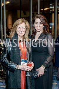 Judith Steinberg, 2017 Honoree Alexandra Stanton. Photo by Tony Powell. 2017 J Street Gala. Convention Center. February 27, 2017