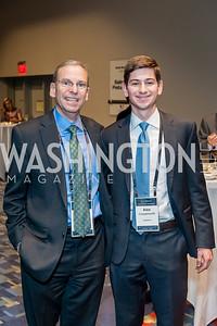 Jeremy Ben-Ami, Alex Coopersmith. Photo by Tony Powell. 2017 J Street Gala. Convention Center. February 27, 2017