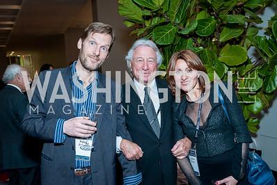 Peter Bottger, Jim Ingram, Larisa Bottger. Photo by Tony Powell. 2017 J Street Gala. Convention Center. February 27, 2017