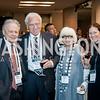 Morton Halperin, Amb. Sam and Sylvia Kaplan, Jill Chessen. Photo by Tony Powell. 2017 J Street Gala. Convention Center. February 27, 2017