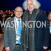David Saperstein, Leon Wieseltier. Photo by Tony Powell. 2017 J Street Gala. Convention Center. February 27, 2017