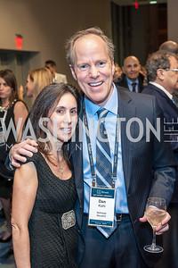 Stacy Kohl and 2017 Honoree Dan Kohl. Photo by Tony Powell. 2017 J Street Gala. Convention Center. February 27, 2017