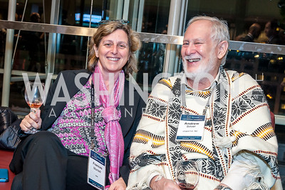 Frances Montell, Andrew Silver. Photo by Tony Powell. 2017 J Street Gala. Convention Center. February 27, 2017