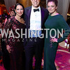 Nicole DiCocco, David O'Brien, Abbey Slitor. Photo by Tony Powell. 2017 JDRF Gala. Building Museum. November 4, 2017