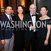 Marty Makary, Susan Faries, Dr. Kurt Newman, Michelle Dolansky. Photo by Tony Powell. 2017 JDRF Gala. Building Museum. November 4, 2017