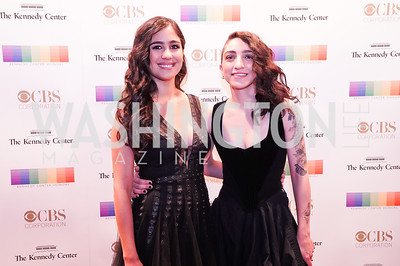 Gemeny Hernandez & Emily Estefan. Photo by Tony Powell. 2017 Kennedy Center Honors. December 3, 2017