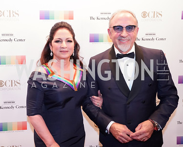 Gloria and Emilio Estefan. Photo by Tony Powell. 2017 Kennedy Center Honors. December 3, 2017
