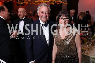 Honoree Sandy Weill, Marie Mattson. Photo by Tony Powell. 2017 Kennedy Center Spring Gala. May 8, 2017