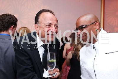 Ranvir Trehan, Honoree Aaron Dworkin. Photo by Tony Powell. 2017 Kennedy Center Spring Gala. May 8, 2017