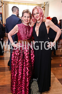 Adrienne Arsht, Storm Large. Photo by Tony Powell. 2017 Kennedy Center Spring Gala. May 8, 2017