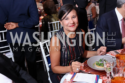 Former Commerce Sec. Penny Pritzker. Photo by Tony Powell. 2017 Kennedy Center Spring Gala. May 8, 2017